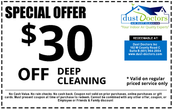 air duct cleaning specials
